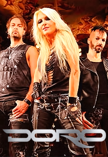 DORO (Germany) Heavy Metal Queen