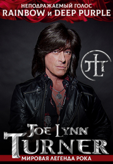 Joe Lynn Turner U.S.A ( ex.Deep Purple,Rainbow,Malmsteen)
