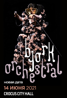 Фото афиши BJÖRK: Orchestral Tour