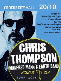 Chris Thompson Voice Of Manfred Manns Eath Band