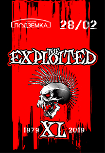 The Exploited. XL Tour