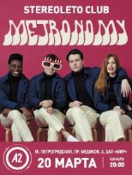 Stereoleto club presents: METRONOMY