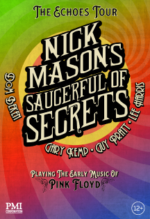 Фото афиши NICK MASON'S SAUCERFUL OF SECRETS
