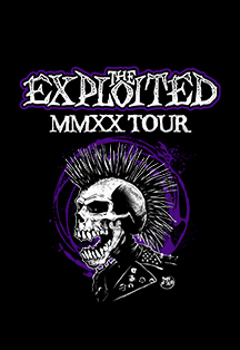 Фото афиши The Exploited. MMXX Tour